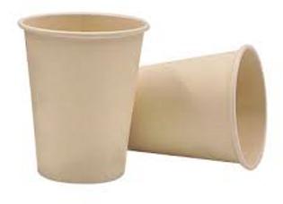 """כוסות אקולוגיות לשתיה חמה 250 מ""""ל"""