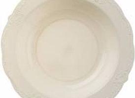 צלחות מרק וינטאז קרם