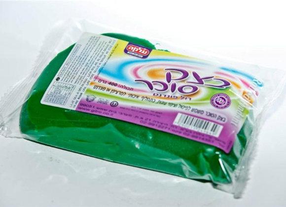 """בצק סוכר עלמה  1 ק""""ג ירוק"""