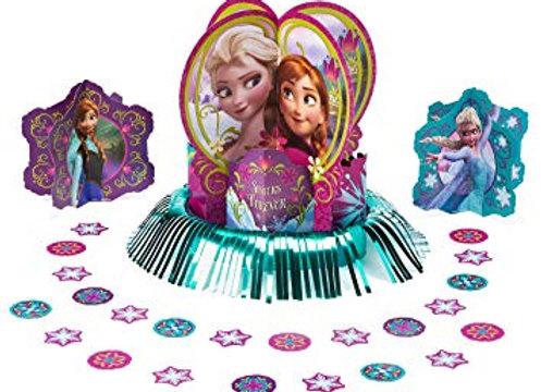 ערכת קישוטי מרכז שולחן פרוזן אנה ואלזה