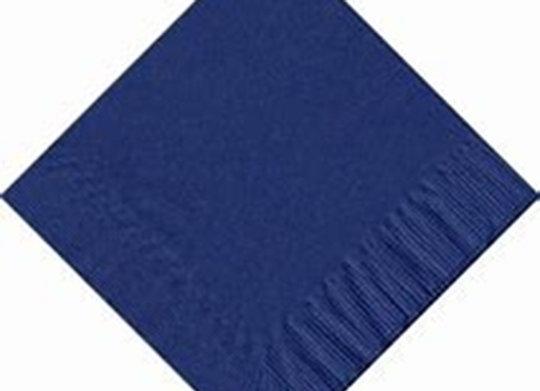 מפית דו שכבתית צבע כחול נייבי 50 יחידות