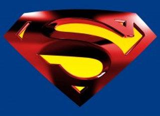 דף אכיל לעוגה סופרמן 7135