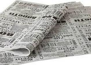 נייר עיתון לעוגה 30 יחידות