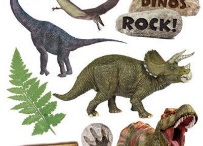 דף טרנספר לעוגה דינוזאורים 6808