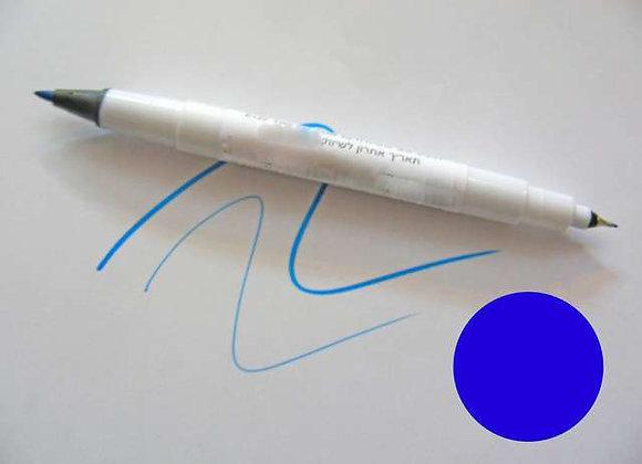 טוש אכיל בצבע כחול