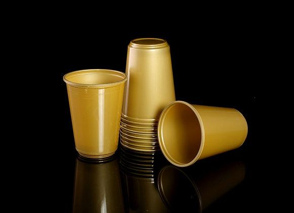 כוס לשתיה קרה זהב