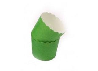 מארז גביעי אפייה בינוני בצבע ירוק