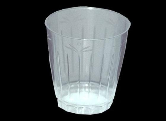 כוס קשיחה מאוד דגם פרח לשתיה קרה