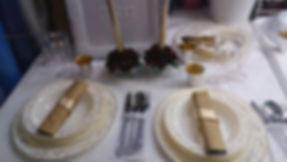 עיצוב שולחן לחג