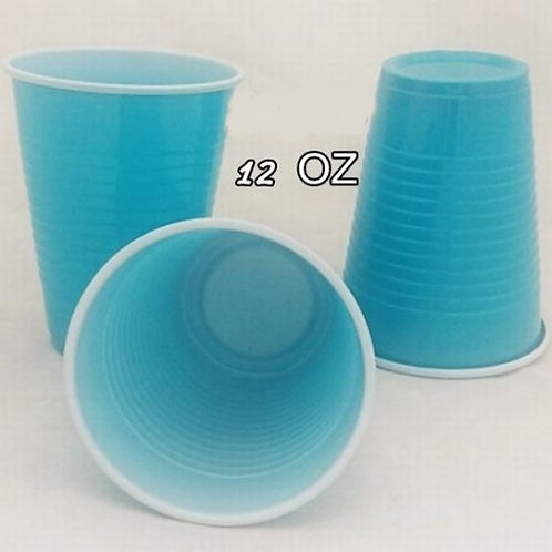 """כוס גדולה טורקיז 360 מ""""ל"""
