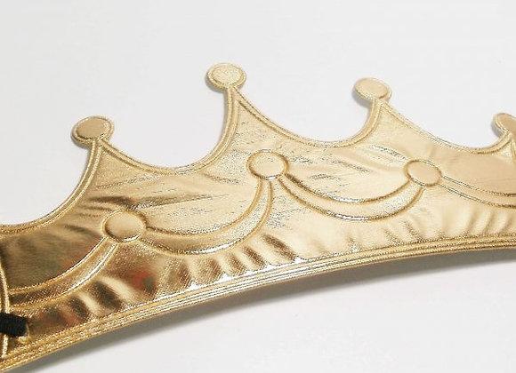 כובע יום הולדת מלך זהב
