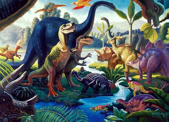 דף אכיל לעוגה דינוזאורים 6809