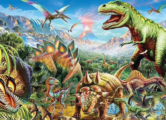 דף אכיל לעוגה דינוזאורים 6807