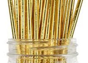 קשית נייר זהב מטאלי