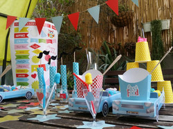 עיצוב שולחן למסיבה או ליום הולדת