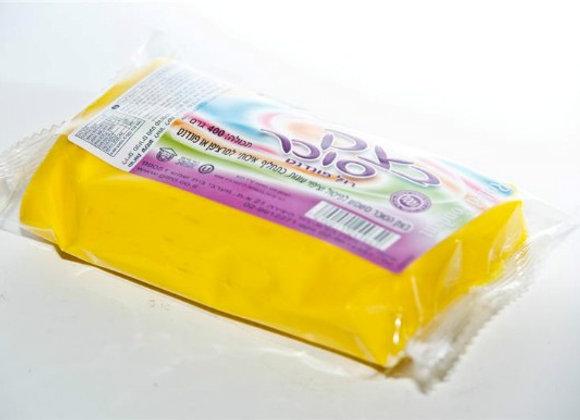 """בצק סוכר עלמה 1 ק""""ג צהוב"""