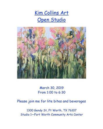 Kim Collins Art Open Studio