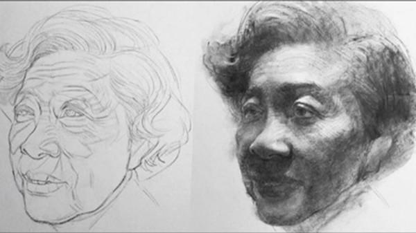 Oliver Sin Charcoal Drawing Workshop
