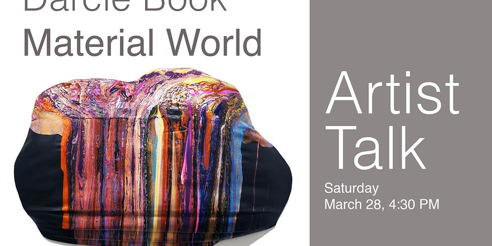 Artist Talk - Darcie Book-CANCELLED