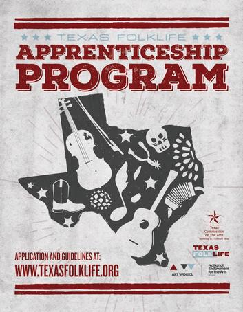 Texas Folklife Apprenticeship Program