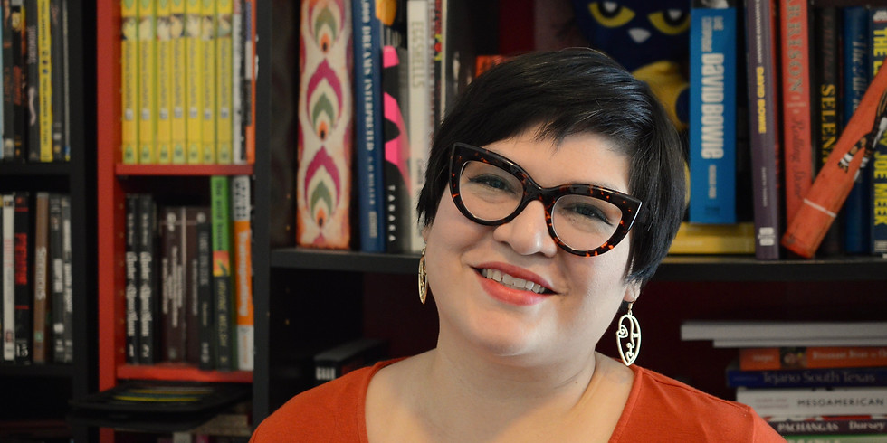 Boxed Lunch Interview Series-Rita Alfaro, Music Librarian Fort Worth Public Library