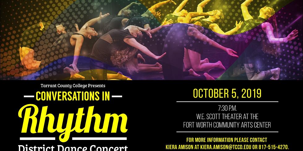 Conversations in Rhythm - TCC District Dance Concert