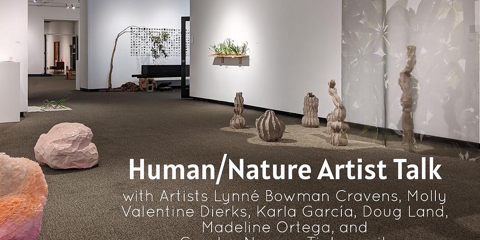 Artist Zoom Talk - Human/Nature