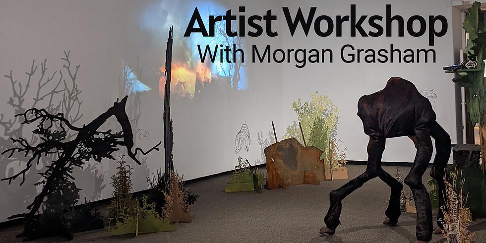 Memory Beast - Free Online Workshop by Artist Morgan Grasham