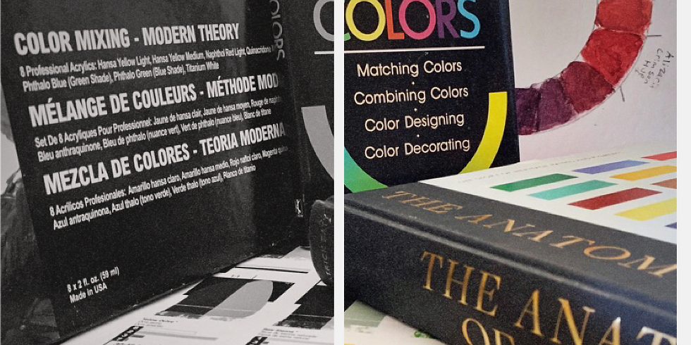 Color Theory: Modern/Mineral Pigments Workshop, Instructor Justin Burns
