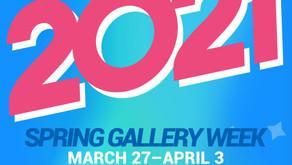 Spring Gallery Week