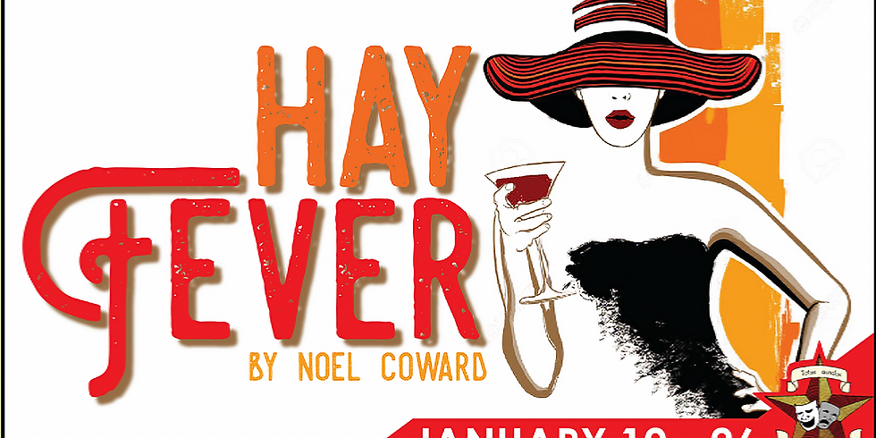 Hay Fever presented by Tarrant Actors Regional Theatre