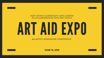 CALL FOR ARTISTS: Art Aid Expo 2019 Booth Participant