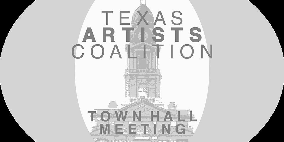 Texas Artists Coalition Town Hall Meeting