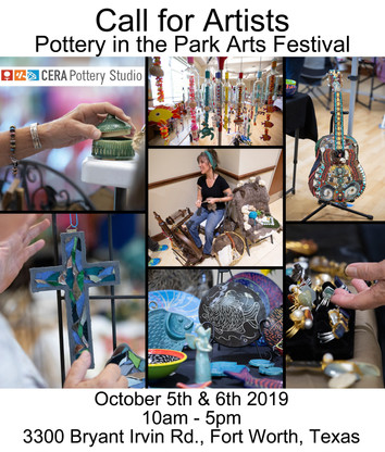 CALL FOR ARTISTS: 17th Annual Pottery in the Park Arts Festival!