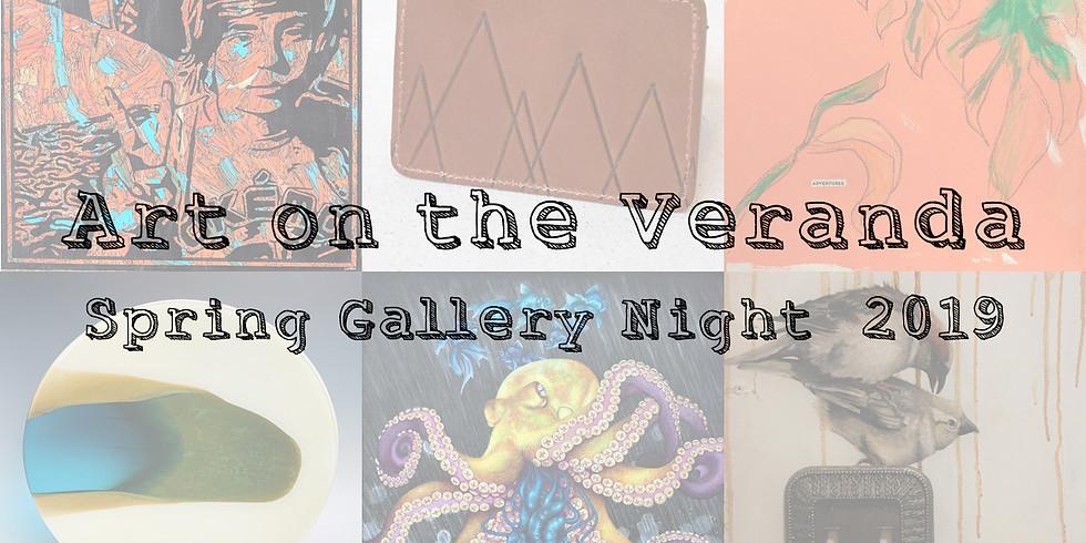 Art on the Veranda: Spring Gallery Night 2019