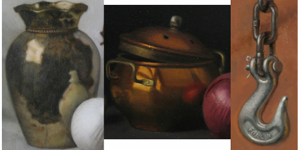 Painting Metallic Objects in Oil