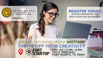 Arts Entrepreneurship Workshop: Thrive off your Creativity