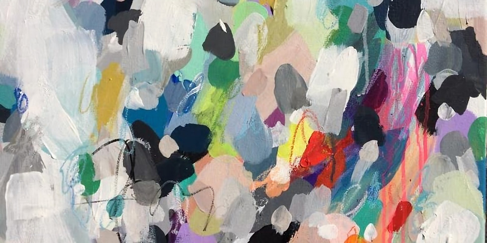 Abstract Painting Workshop with Laura Mayberry