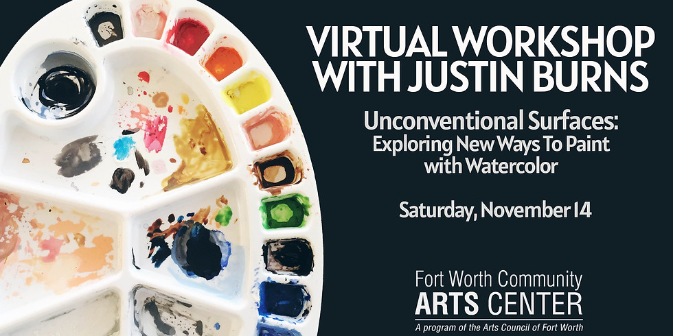 Virtual Workshop: Unconventional Surfaces:  Exploring New Ways to Paint with Watercolor