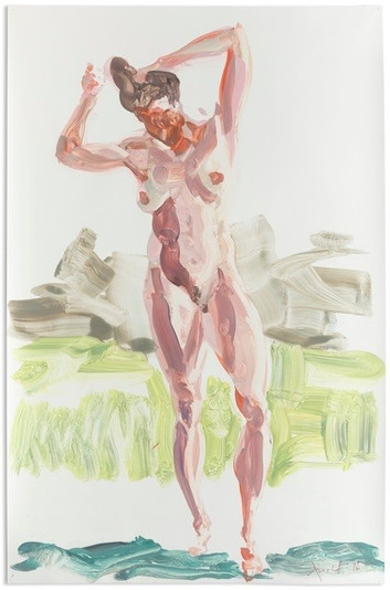 Pinned Mylars by Eric Fischl
