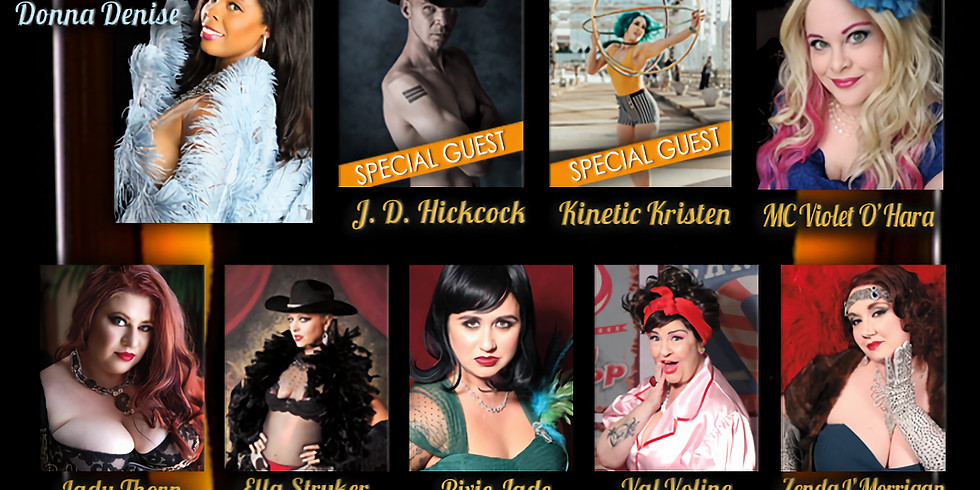 'SOUTHERN COMFORT', A BURLESQUE PRODUCTION