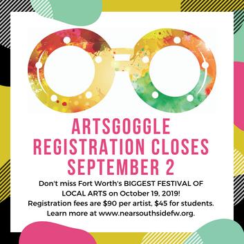 CALL FOR ARTISTS: ArtsGoggle