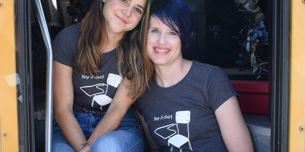 Boxed Lunch Interview Series-Vanessa Barker and Taylor Willis of the Welman Project
