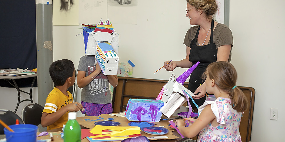 Workshop: Learning from the Masters with Art Room, Sept. 18 and 25th, Ages: 9-12
