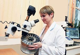 Factory laboratory Teploobmennik PDC