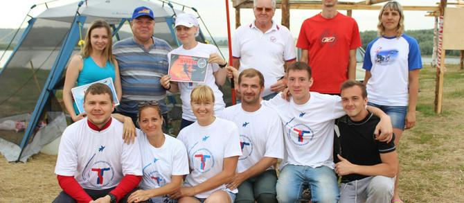 Команда «Теплообменника» на Туристическом слёте