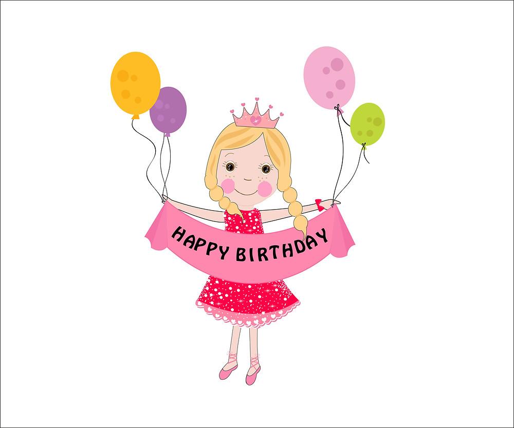 Birthday Girl Sarah