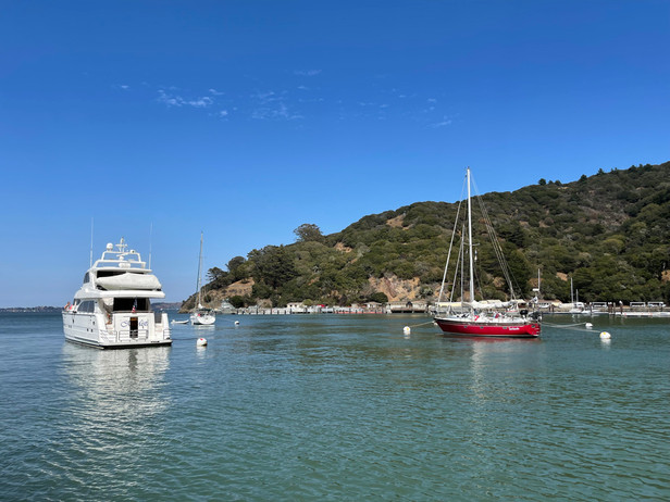Angel Island Cruise Out, Aug. 2021.