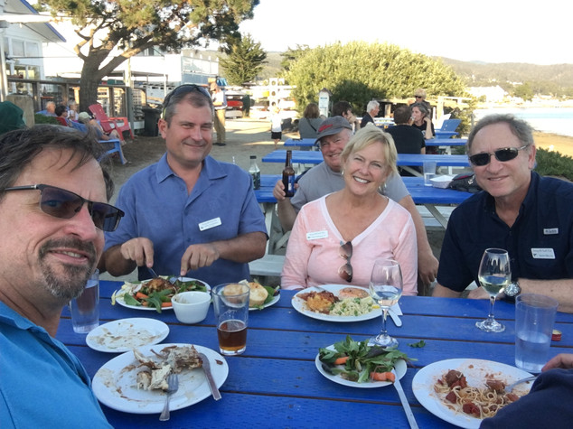 Cheers from Emeryville Yacht Club - alf Moon Bay Cruise Out Sept 13-15, 2019