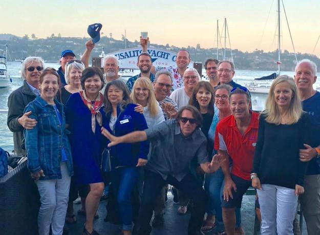 Sausalito Yacht Club August 16, 2019